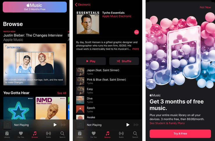 ios adware apple music 3