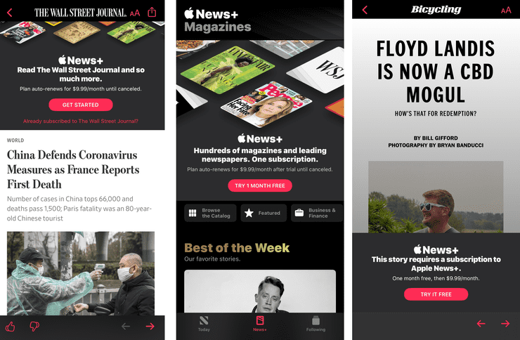 ios adware apple news